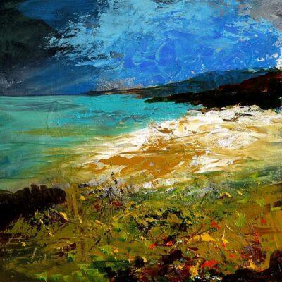 Acrylic on Canvas Framed size: 50 x 50cm £400