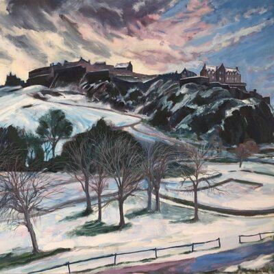 Edinburgh Castle, February 2021 - Stephen Howard Harrison