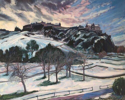 Edinburgh Castle, February 2021