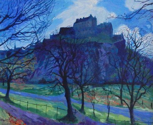 Edinburgh Castle, Early Spring