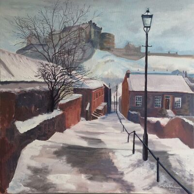 Oil on Canvas Framed size: 74 x 74cm £1,150