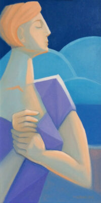 Oil on Canvas Framed size: 60 x 30cm £650