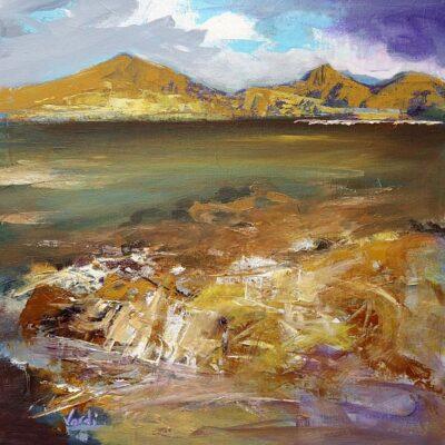 The Cullin Ridge / Skye by Arie Vardi